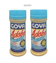 2 Pack Goya Adobo Light All Purpose Seasoning Without Pepper Sin Pimient... - $13.85
