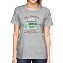 California Beaches Endless Summer Womens Grey Shirt - $14.99+