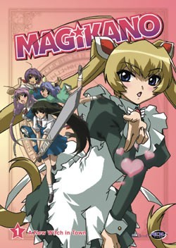 Magikano: A New Witch in Town Vol. 01 DVD Brand NEW!