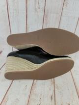 Coach Womens Gala Black Platforms Wedges Espadrille Fashion Heels Size 10M - $34.65