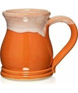 Orange and White 16oz Potbelly Mug - $49.00
