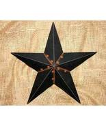 12 inch Metal Black Star Country Home Decor - $11.98