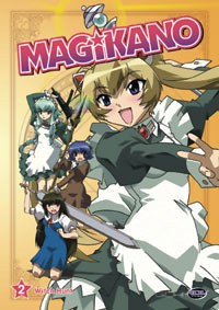 Magikano: Witch Hunt Vol. 02 DVD Brand NEW!