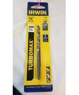 """IRWIN TURBOMAX 1/4"""" DRILL BIT 73316 - $5.39"""