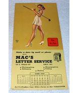 Earl Moran 1940 Golf Pin Up Girl Calendar Up To Par - $17.95