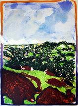 """Malcolm Morley """"Devonshire Bullocks"""" 1982 - S/N... - $2,150.00"""