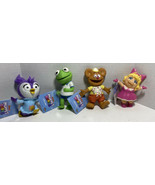 Muppet Babies Squishies Kermit, Miss Piggy, & 2 More NWT W10 - $18.37