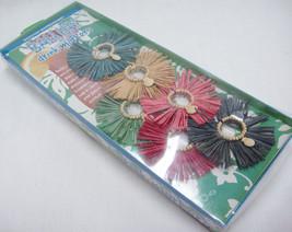 Boston Warehouse Bali Hai Mai Tai Drink Markers Hula Grass Skirt Charms ... - $13.06