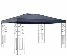 QUICK STAR Ersatzdach für Blätter Pavillon 3x4m Pavillondach Grau Ersatz... - $111.36