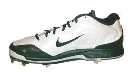 NEW Nike Air Huarache Pro Low Metal Baseball Cleats Size 13 Green White 654854 - $48.39