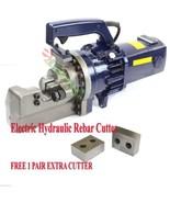 """Electric Hydraulic Rebar Cutter 1"""" ( #8) Heavy Duty Cutting FREE TWO EXT... - $484.10"""