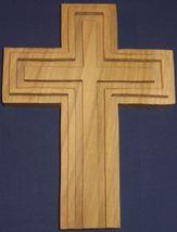 Custom wooden  cross relief style. - $24.95