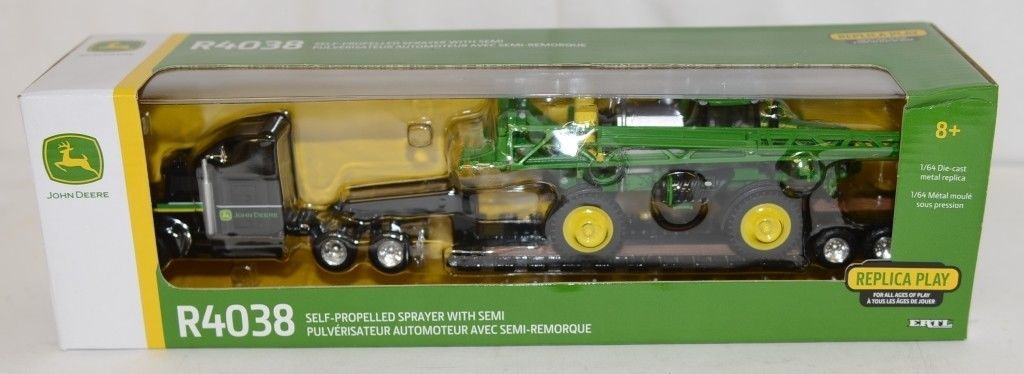 John Deere LP67314 Die Cast R4038 Self Propelled Sprayer With Semi