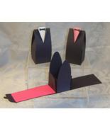 24 Tuxedo Favor Box Wedding Groom Reception Shower Prom - $7.98