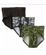 Hanes Boys' 3 Pack Ultimate Comfortsoft Printed Brief, Assorted, Large - $39.61