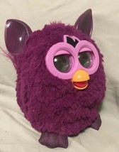 2012 Furby  Pink Purple Works Great Clean Hasbro Talking Toy - $23.38