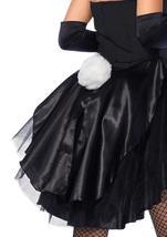 Leg Avenue Women's 3 Piece Tux And Tails Bunny Tuxedo Costume image 6