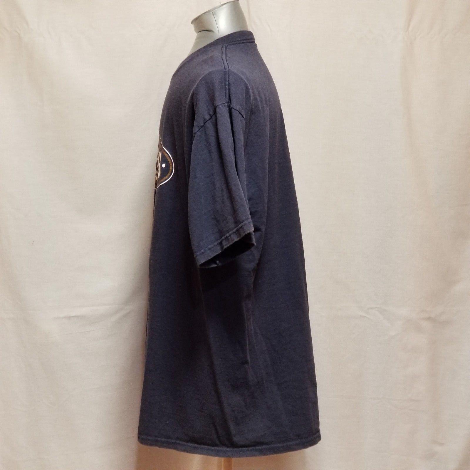 St. Louis Rams NFL Football Mens Size XL Blue Short Sleeve T Shirt image 3