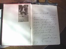 Jack London - LOST FACE 1st/2nd important association copy Hawaii 1916 t... - $1,421.00
