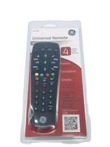 GE Universal Remote 4 Audio Video Devices #24944 General Electric Black New - $12.86
