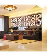 32pcs 3D Vine Mirror Wall Stickers Art Acrylic Tile Decal Home Decor Rem... - $18.66