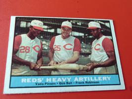 1961 TOPPS  # 25    REDS  HEAVY  ARTILLERY    NEAR  MINT /  MINT  OR  BE... - $119.99