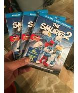 THE SMURFS 2 BLU-RAY + DVD + DIGITAL + SLIPCOVER -Brand New & Sealed- Fa... - $13.32