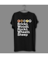 Helvetica Catan Board Game Black T-Shirt Geek Navy Shirt Adult Humor Fun... - $17.99