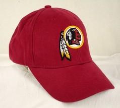 Washington Redskins Baseball Hat Cap Red Reebok RBK NFL EUC - $19.99