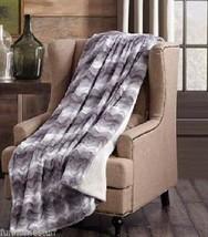 RAGING SEA Super Soft Faux Fur Sherpa Luxury Plush Throw Blanket 50 x 70... - $35.95