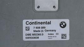 BMW N63 4.4L F01 F10 550 750 Engine Control Module Ecu Ecm Pcm 7-608-099 image 5