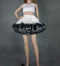 Women Girl Tiered Tutu Skirt Outfit Plus Size Puffy Party Tutu Skirt Blush Pink  image 10
