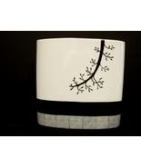 Tozai Home Vases Paris Design Pierre-Marie Couturier 10 Inch Black & Whi... - $24.00