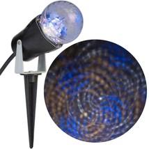 Gemmy Lightshow LED Projection Light Swirls Blue White Classic White New - $17.81