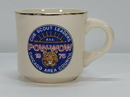 Vintage Boy Scout Cub Scout Pow Wow Coffee Mug | 1975 Chicago Area Council - $30.00