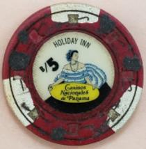Vintage $1 Casino Nacionales de Panama Casino Chip - $3.95