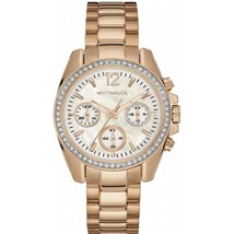Wittnauer Rose Gold-Tone Chronograph Ladies Watch WN4073 - $129.45