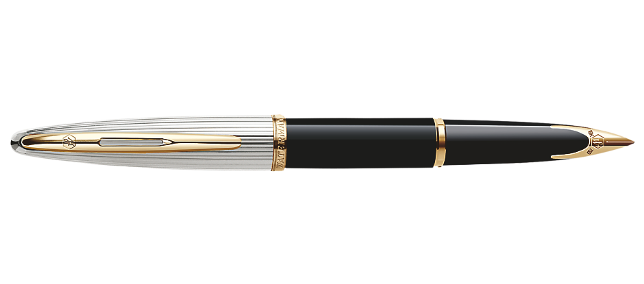 Waterman Paris CARENE DELUXE BLACK GT Fountain/Roller Ball/Ballpoint Pen