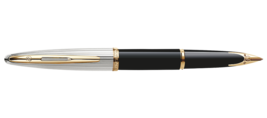 Waterman Paris CARENE DELUXE BLACK GT Fountain/Roller Ball/Ballpoint Pen image 1