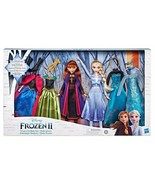 NEW 2019 Disney Frozen II Fashion Set 2 Dolls 6 Outfits Target Exclusive  - $69.76