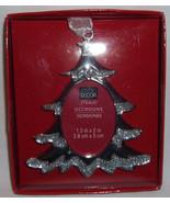 TREE Silver Christmas Ornament - $6.99