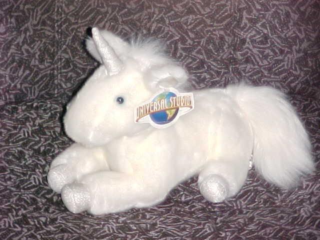 "14"" Harry Potter Unicorn Plush Toy With Tags & Pellets Universal Studios - $59.39"