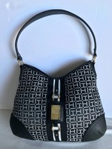 Tommy Hilfiger Hand Bag Womens Purse Hobo Bag Satchel Black New Nwt $85 - $64.35