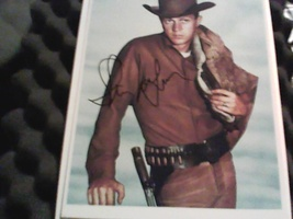 Steve McQueen Autographed Wanted Dead or Alive 8 x 10 Photograph  - $4,999.99