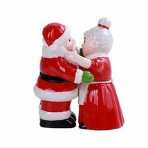 Santa and Mrs Claus Hugging Salt and Pepper Shakers - $14.84