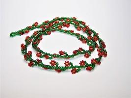 Red Daisy Eyeglass Chain - $36.00