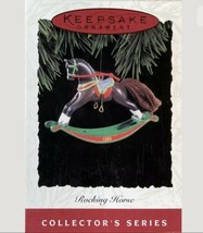 HALLMARK 1994 ROCKING HORSE CHRISTMAS ORNAMENT - EXCELLENT CONDITION IN BOX - $13.93