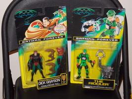 1995 Batman Forever Robin & The Riddler Figures... - $29.99