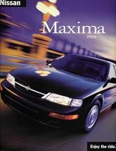 1998 Nissan MAXIMA sales brochure catalog US 98 GXE SE GLE - $9.00