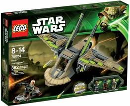 LEGO Star Wars HH-87 Starhopper 75024 Cad Bane Obi-Wan Nikto Guard – NIB! - $98.95